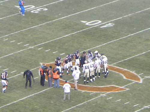 Coin Flip - Saints @ Bears | by Julie Rubes