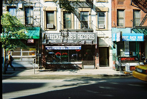 Bleecker Bob's Records @ 118 West 3rd Street NYC - Formerly Night Owl Cafe | by NYCDreamin