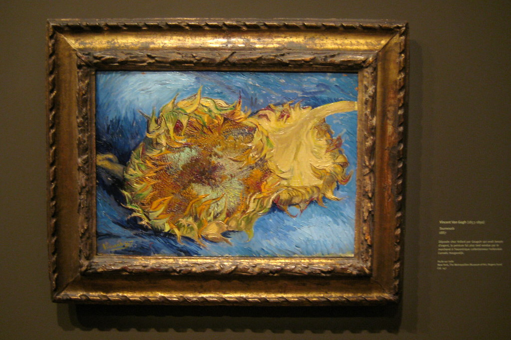 Paris - Musée d'Orsay - Vincent Van Gogh's Two Cut Sunflowers