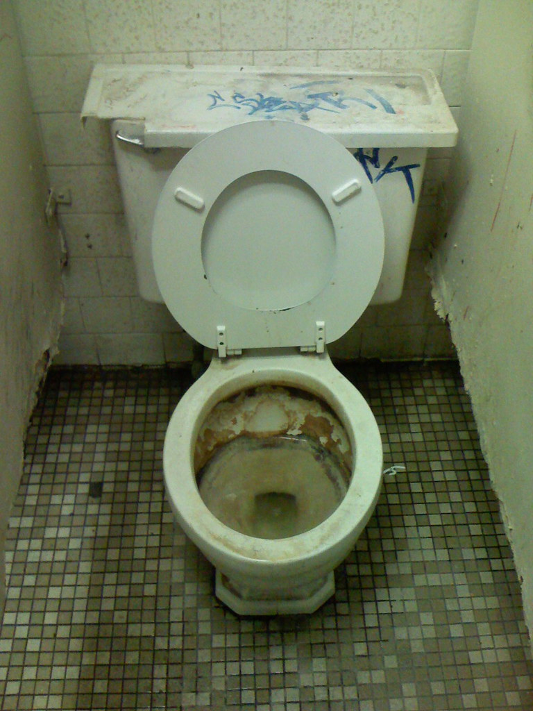 World S Dirtiest Ugliest Smelliest Gas Station Toilet Flickr