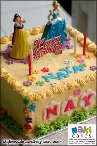 Kue Ulang Tahun Naya Princess Disney Yulia Riani Flickr