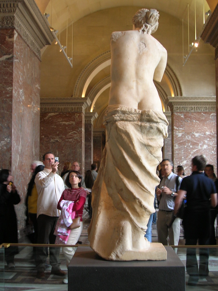 Venus de Milo - Rear View | Enough ogling at mah wife ...