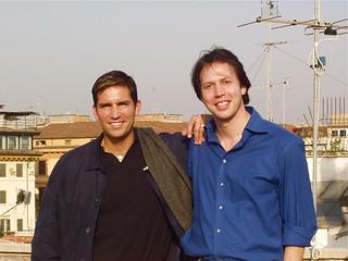 Jim Caviezel and Manuel de Teffé | by Manuel de Teffé