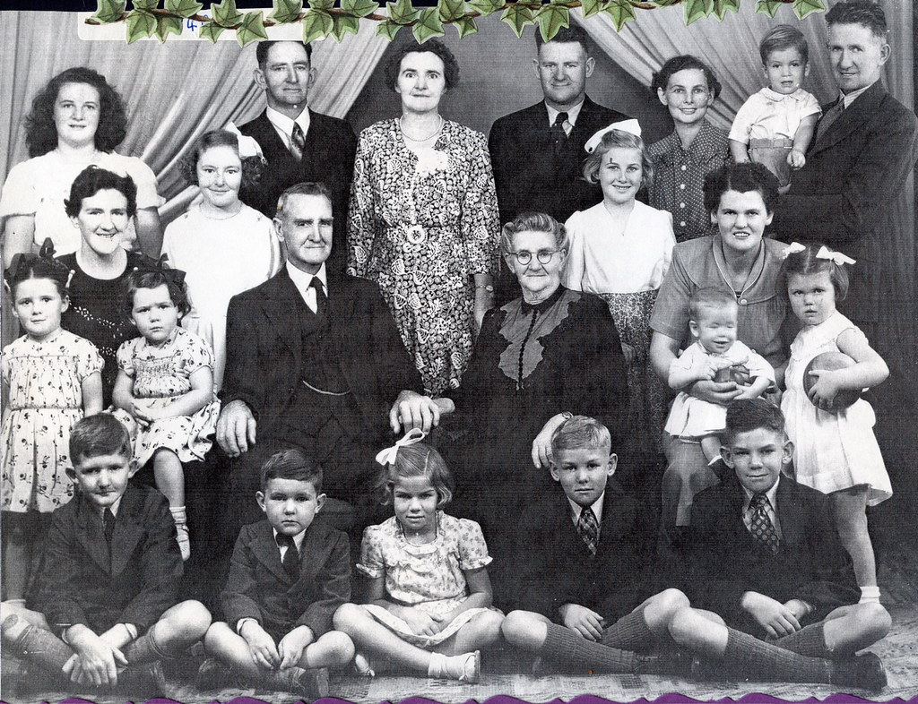 Wesley and Francis Johnston's Golden Wedding Anniversary - 1949