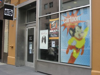 cartoon art museum   by Squid!
