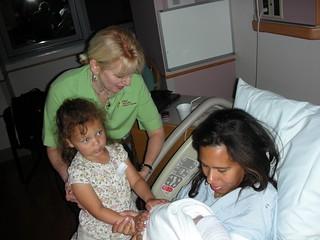 Kaylee, Mommy, Grandma Melody, and Sebastian | by mahoukame