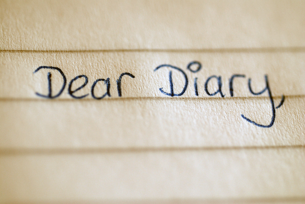 Dear Diary | The beginning of a child's diary entry | Philippa ...