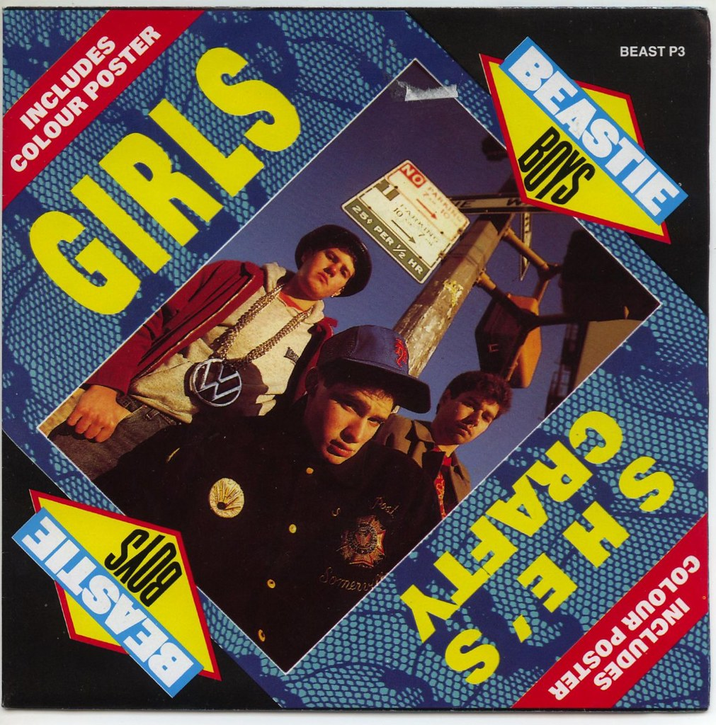 Beastie Boys Girls She S Crafty Uk 7 Picture Sleeve Flickr