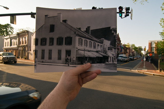 Looking Into the Past: King and Market, Leesburg, VA