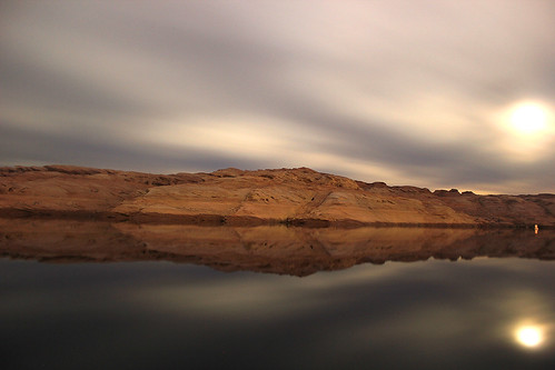 longexposure winter arizona mountain lake water beautiful night américa exposure exterior view artistic cielo lakepowell estadosunidos 2014 largaexposición 550d raulhudson1986