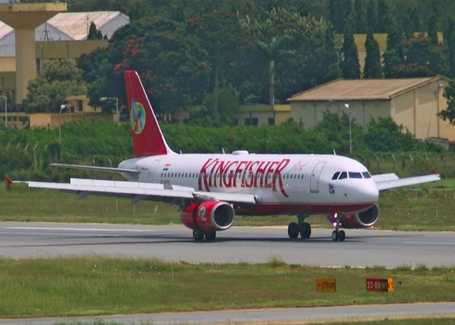 Kingfisher A320 VT-KAD