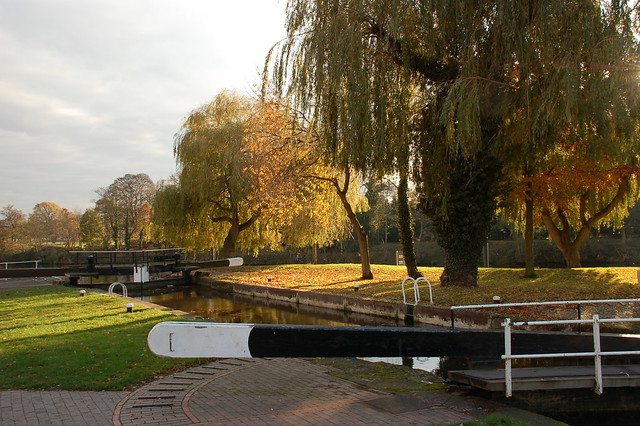 THE CANAL AT STOURPORT
