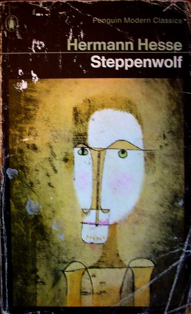 Steppenwolf' Hermann Hesse | Cover: Detail of a painting by… | Flickr