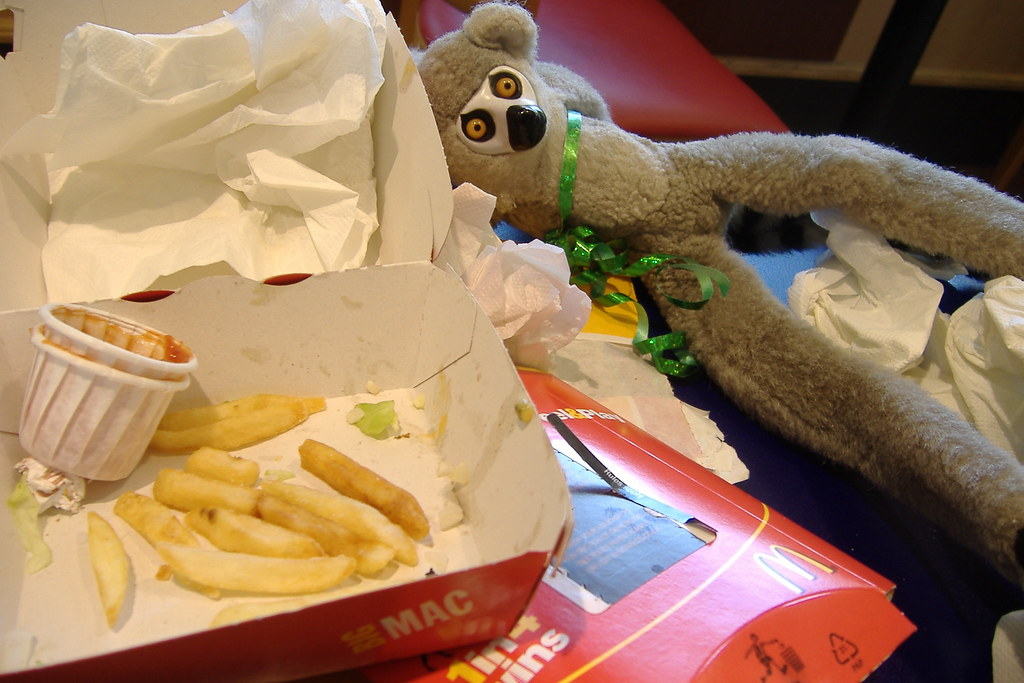 Even I pig out sometimes   *burp* ...excuse me...   Flickr