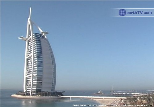 Video from earthTV.com - Jumeirah Beach, Arabian Gulf, Dubai, United Arab Emirates (Feb 14, 2008) | by earthTV
