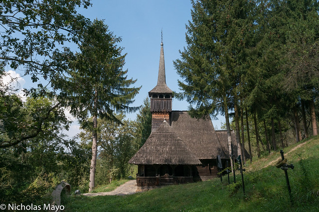 250 Years Old Wooden Church