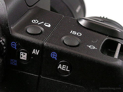 Sony A200 Right Buttons | by IvanImages