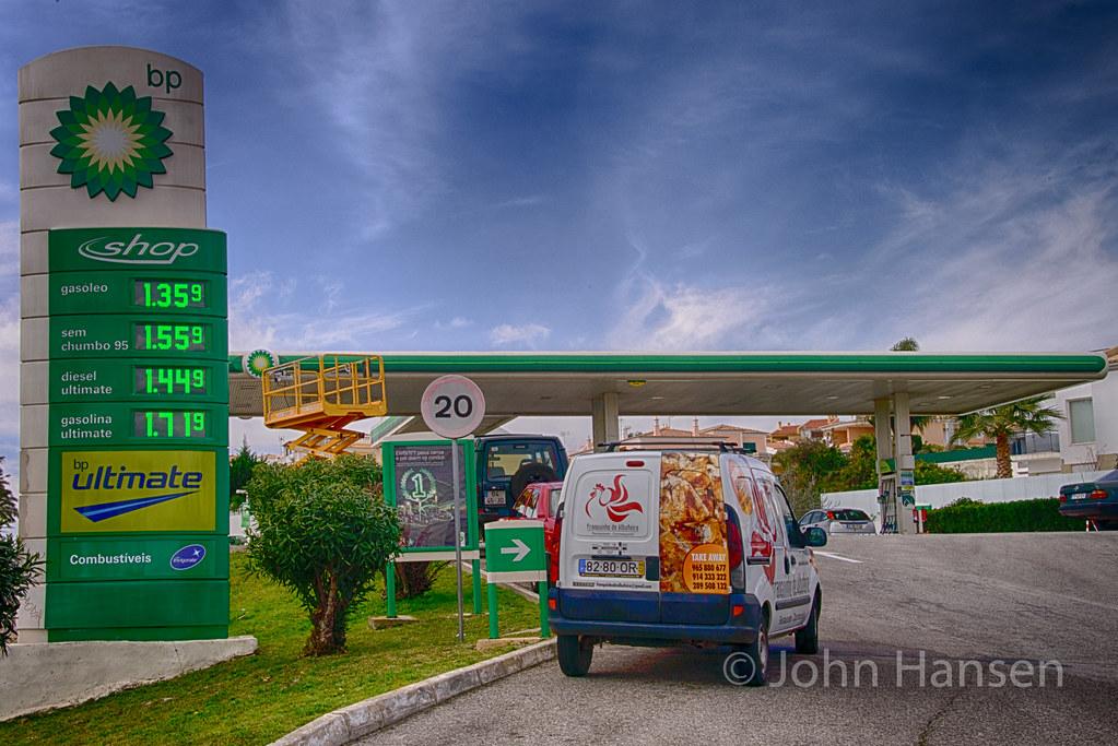 BP Gas Station in Portugal   John Hansen   Flickr