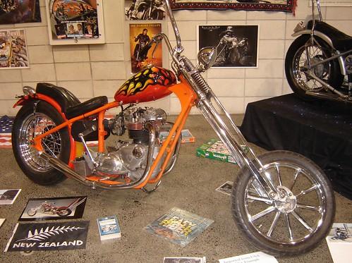 650 Triumph chopper