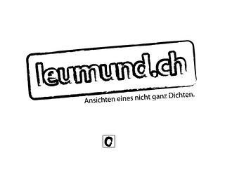 LeuMund Logo Stamp