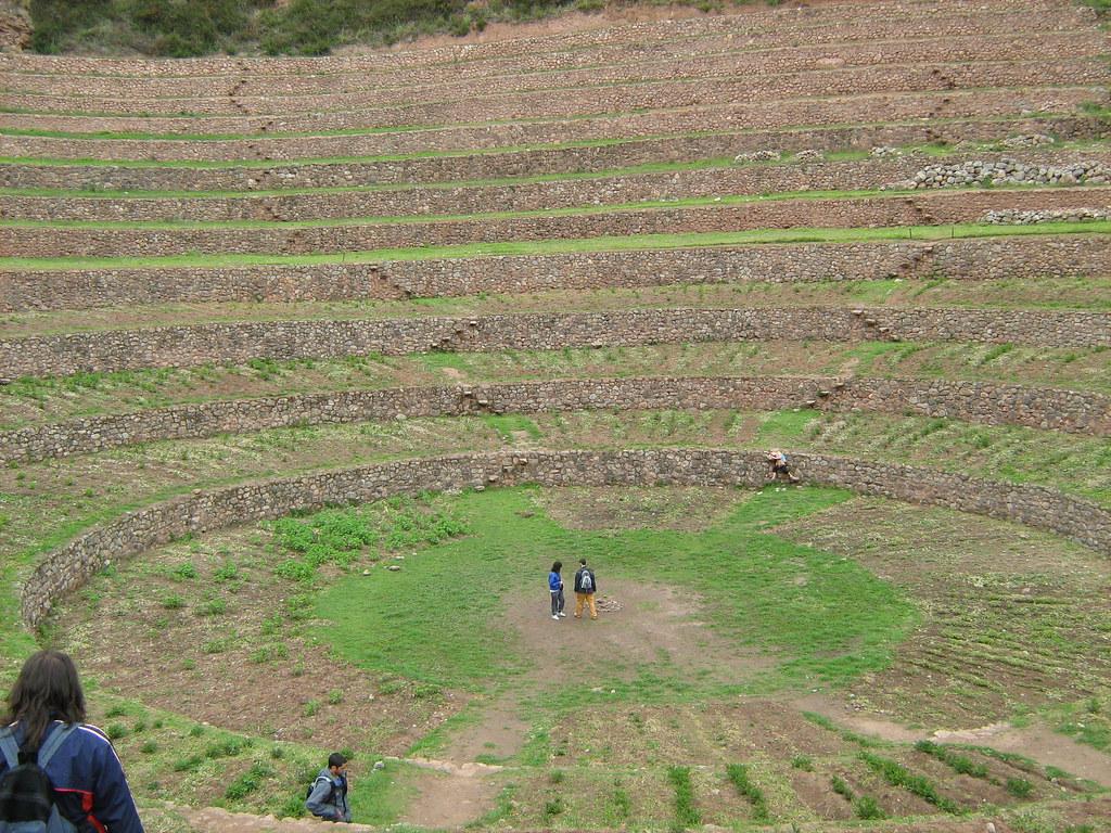 Terrazas De Cultivo Incas Manuel Peralta Flickr