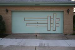 Midcentury Modern garage door pattern | by repowers