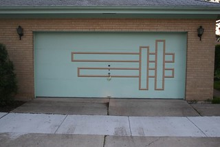 Midcentury Modern garage door pattern | by repowers