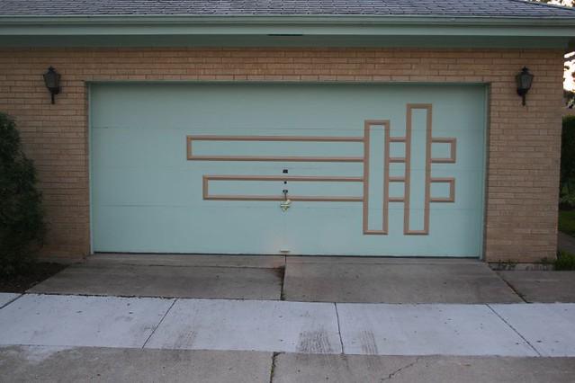 Midcentury Modern Garage Door Pattern Robert Powers Flickr