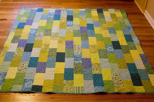 finished brick road quilt | by jrcraft