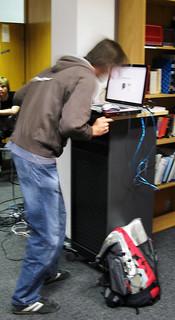 "display22 Workshop ""Interactive Devices"": Headbang-O-Mat 3000   by display22"