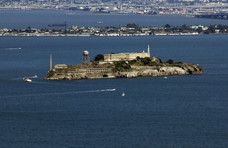 Alcatraz from the Headlands