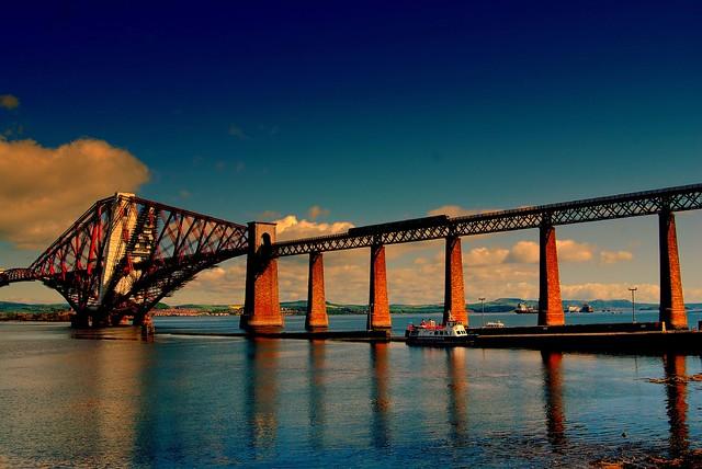 Over the bridge and far away