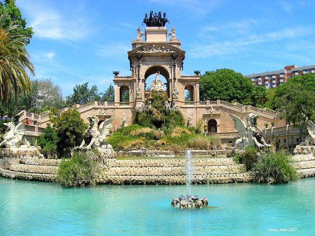 Barcelona, Parc de la Ciutadella, Fuente Wellington