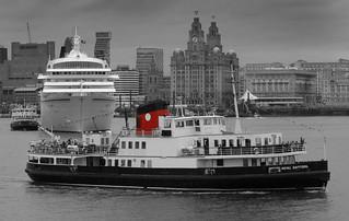Ferry across the Mersey | by jimmedia