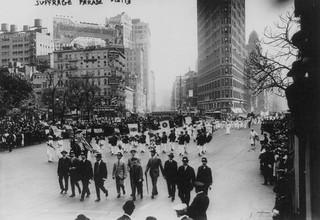 No Known Restrictions: Suffrage Parade from the Bain Collection, 1913 (LOC) | by pingnews.com