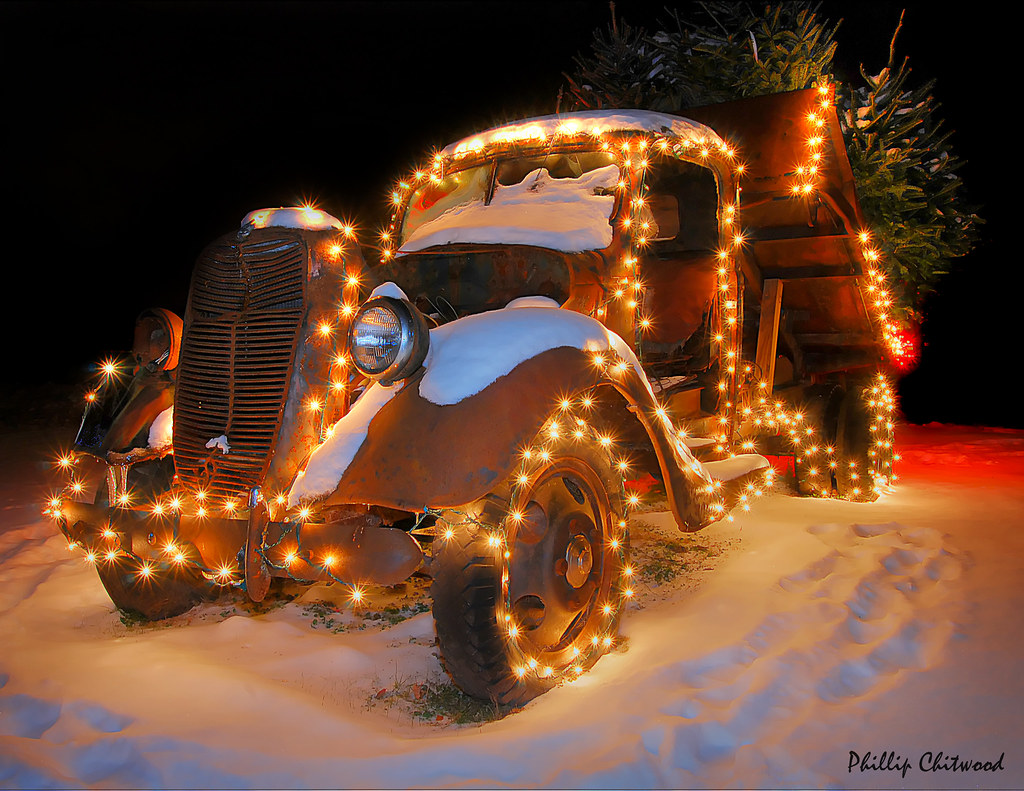 Vermont Christmas Tree Delivery Truck | View Large On ...