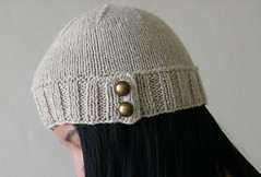 2 Months, 22 Hats - Button Tab Natural | by ilikelemons