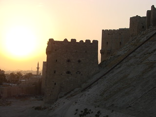 Aleppo Citadel at Sunset | by watchsmart