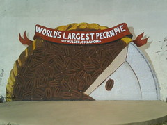 World's Largest Pecan Pie Mural | by KB35