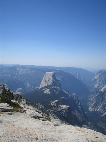View From Clouds Rest in Yosemite