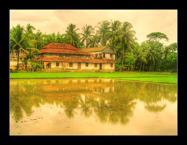 A beautiful village of Purba Medinipur, West Bengal, India