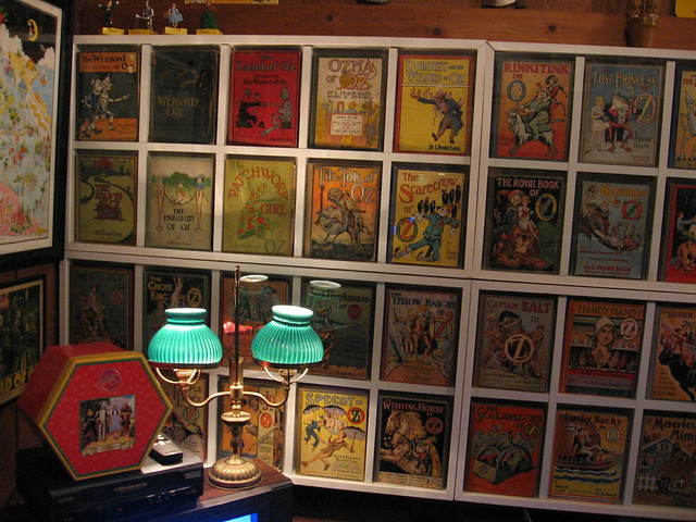 wall of oz books