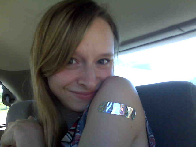 Love the bandaid!