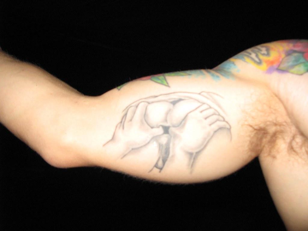 Anus tattoo on the 21 beautiful