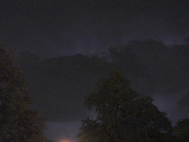 081903 - Thunderstorm north of Kearney Nebraska