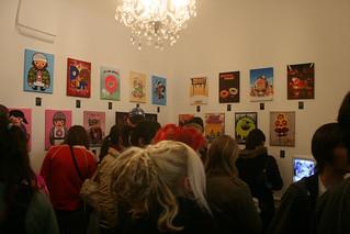 Donut exhibition Rennes Delkographik studio   by el.reazo