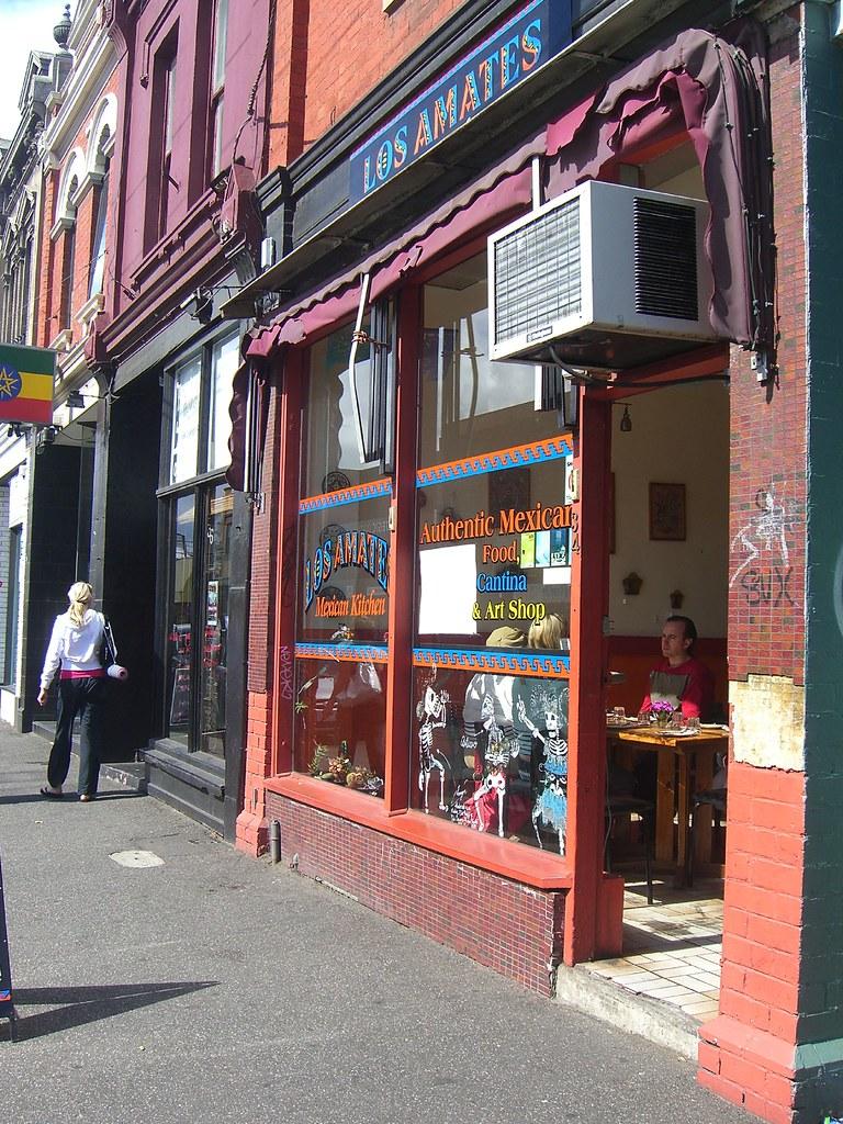 Shop front - Los Amates, Fitzroy   Los Amates Mexican Kitche