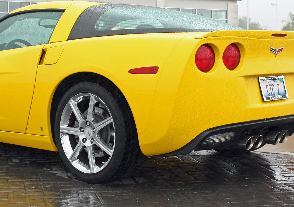 2008 Chevrolet Hertz Corvette ZHZ Special Edition (8 of 10)