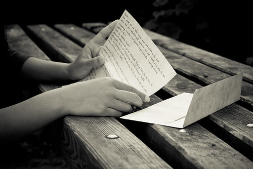 Once I got a love letter | by Pimthida
