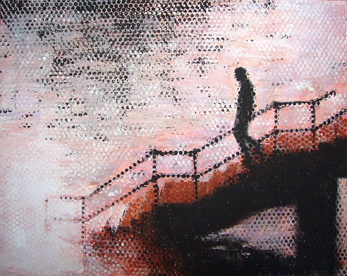 Descendiendo una escalera / Descending a Staircase | by David Yerga